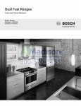 Bosch HDI8054C Specifications
