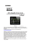 Yamaha STAGEMIX M7CL User guide