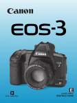 Canon EOS-3 Troubleshooting guide