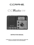C. Crane CCRadio SW Instruction manual