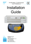 BBV TX1500/BBUS-IF Installation guide