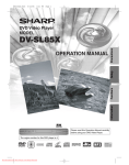 Sharp DV-SL85X Specifications