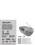 Sharp QT-UH5H Specifications