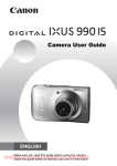 Canon IXUS 990 IS User guide