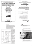Worcester 26CDi Xtra Operating instructions