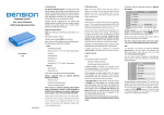 Dension Lite BT User manual