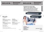 Belkin F1DV108 User manual