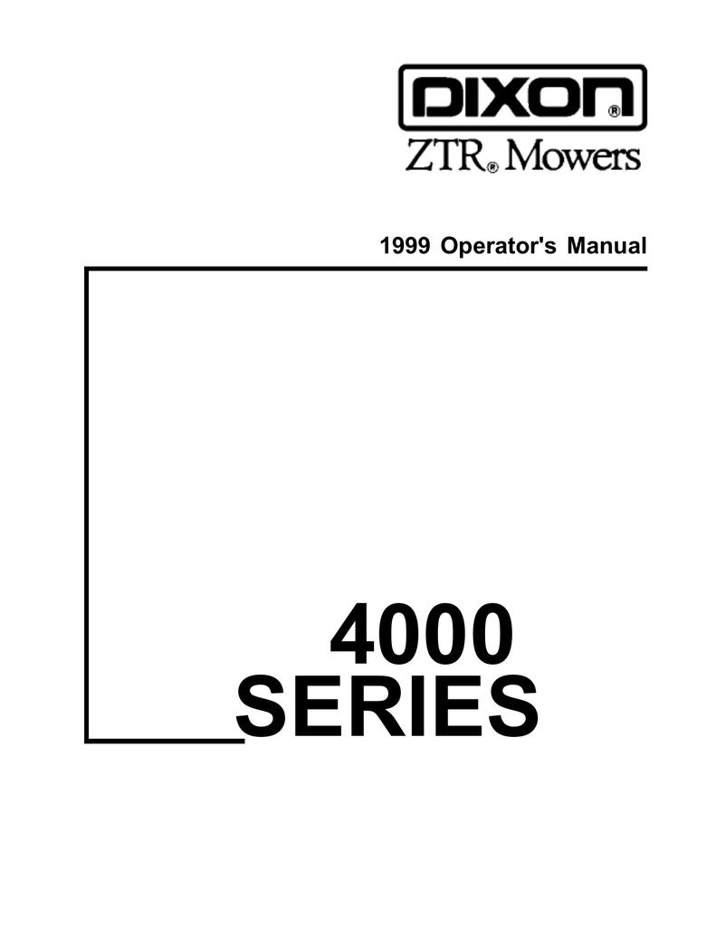 Dixon Ztr 3304 1997 Parts For A Trailblazer Fuse Box – Dixon Ztr 2301 Ignition Wiring Diagram
