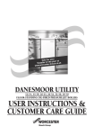 Bosch DANESMOOR UTILITY 12-14 Operating instructions