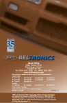 Beltronics BEL 990 Operating instructions