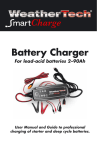 WeatherTech SmartCharge 200 User manual
