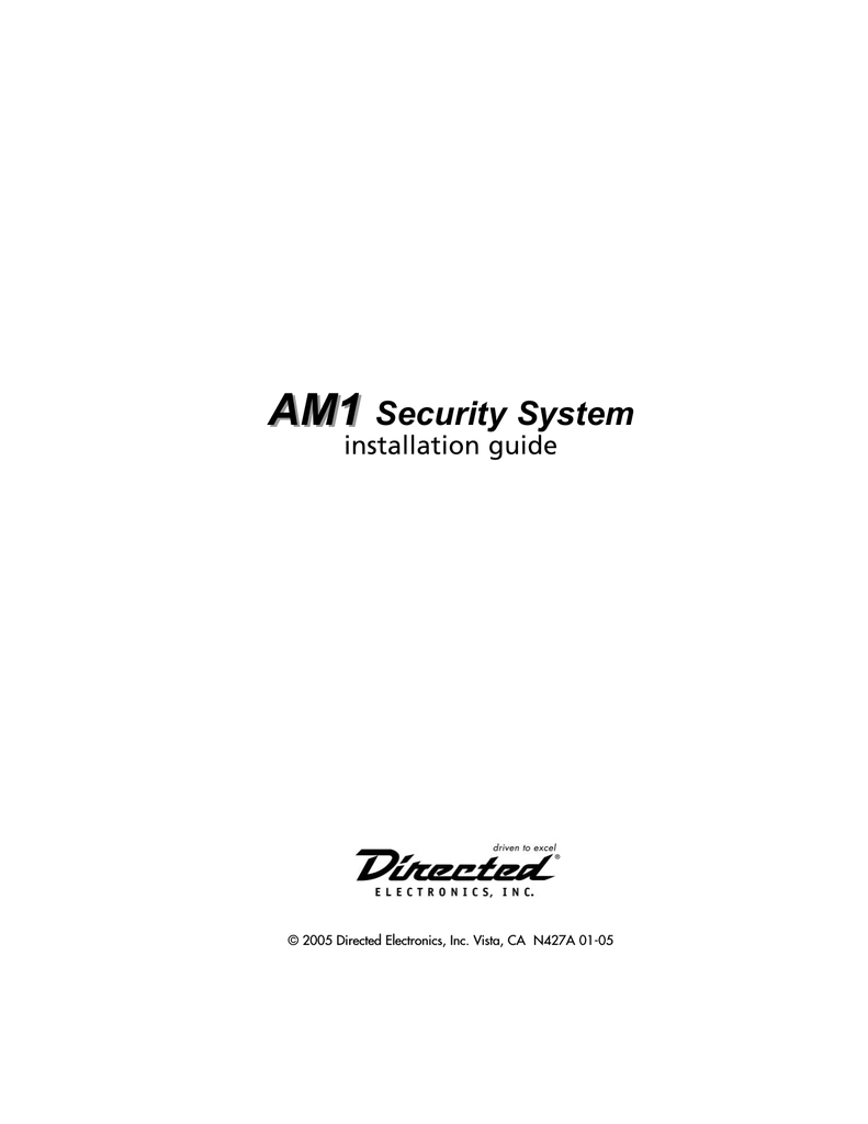 automate am1 5 installation guide rh manualzilla com Leader Electronics Inc Leader Electronics Inc