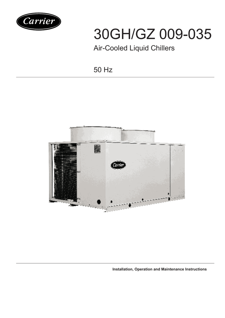 carrier chiller 30gh manual how to and user guide instructions u2022 rh taxibermuda co 30GX Carrier Chiller Manual carrier 30gx chiller service manual