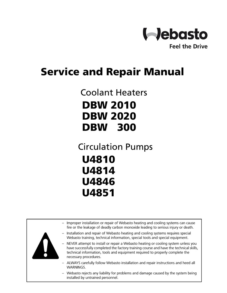 Webasto Dbw 46 Repair Manual Thermo Top C Wiring Diagram