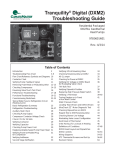 ClimateMaster AG series Troubleshooting guide