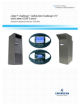 Emerson LiebertChallenger ITR Installation manual