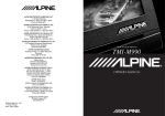 Alpine TMI-M990 - LCD Monitor Owner`s manual