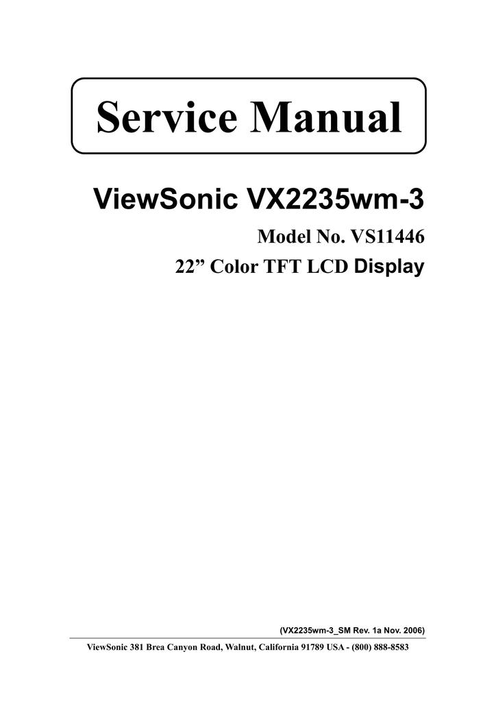 Viewsonic Vs11446 Service Manual P801 Car Stereo Wiring Harness