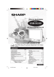 Sharp 25R-S100 Operating instructions