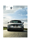 BMW 2009 335 Owner`s manual