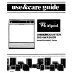 Whirlpool DU1098XR Specifications
