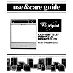 Whirlpool DP1098XR Series Specifications