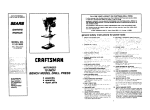 Craftsman 113.213832 Specifications