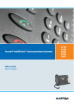 Aastra IntelliGate A150 User`s guide