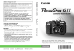 Canon PowerShot G11 User guide
