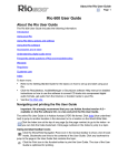 Rio 600 32MB User guide