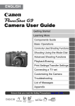 Canon Powershot G4 User guide