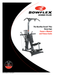 Bowflex Xceed Plus Owner`s manual