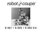 Robot Coupe R 402 Series A Specifications