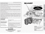 Sharp VE-CG40U Specifications