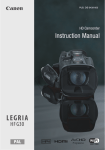 Canon Legria HFG30 Instruction manual