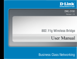 D-Link DWL-3150 User manual