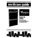 Whirlpool RB275PXK Use & care guide