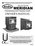 Enviro Meridian Owner`s manual