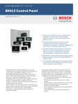 Bosch B5512 Owner`s manual