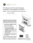 MHSC CFX32 Operating instructions