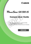 Canon PowerShot SX130 IS User guide