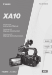 Canon A10 Operating instructions