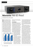 Marantz PM-KI PEARL Specifications