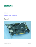 Siemens ERTEC EB 200 Technical data