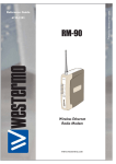 Westermo RM-90 User`s manual