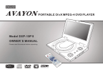 Avayon DXP-10P Owner`s manual