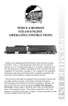 MTHTrains E-4 Hudson Operating instructions