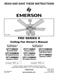 Emerson CF710ORB02 Owner`s manual