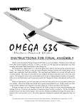 WattAge omega 636 Instruction manual