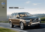 Volvo 2013 Owner`s manual